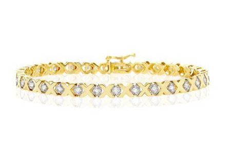 Diamond XO Bracelet